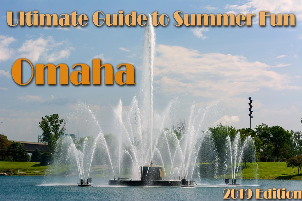 Water Fountain in Omaha Nebraska